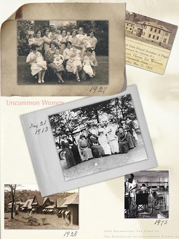 Collage of Uncommon Women Photos