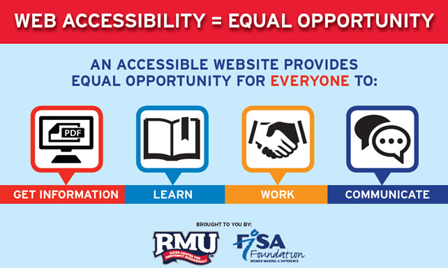 Website Accessibility Flyer