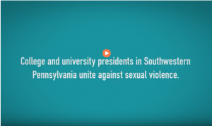 screenshot of College Presidents video