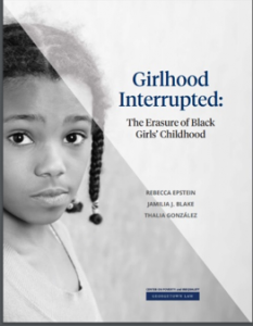 Cover of Girlhood Interrupted: The erasure of Black girls' childhoods by